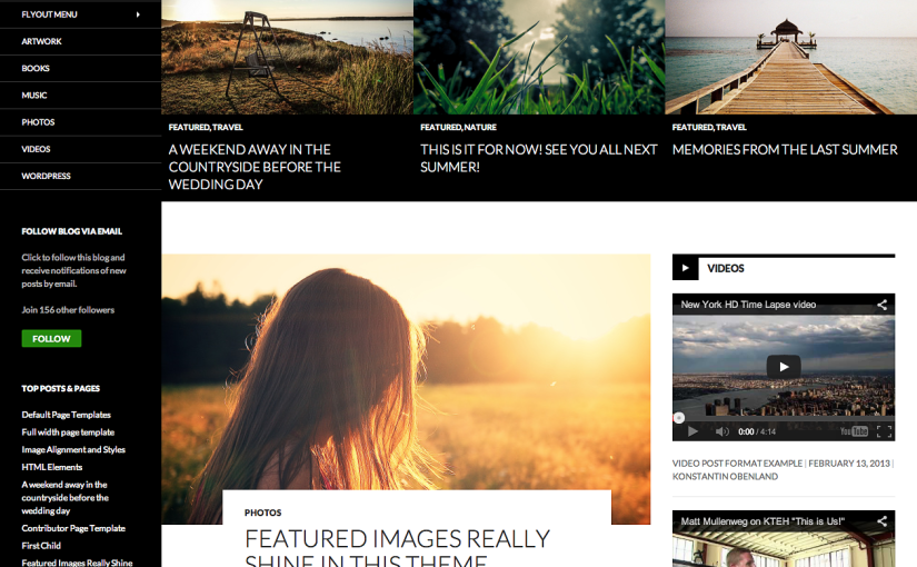 "WordPress 3.8 ""Parker"" and Twenty Fourteen Theme"