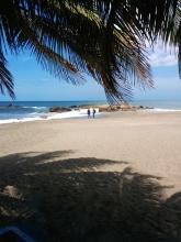 A beautiful beach location, Suyapa Beach Hotel in Las Peñitas.