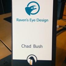 Chad Bush is my desk mate.