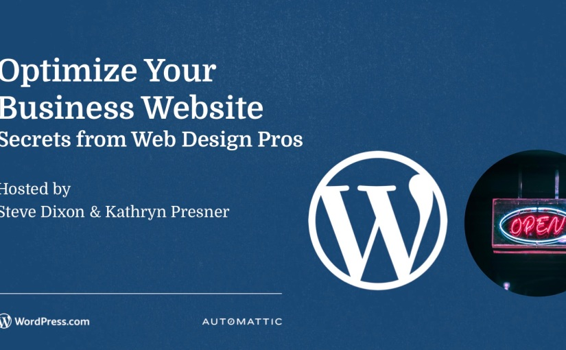 Free Tutorial: Optimize Your Business Website