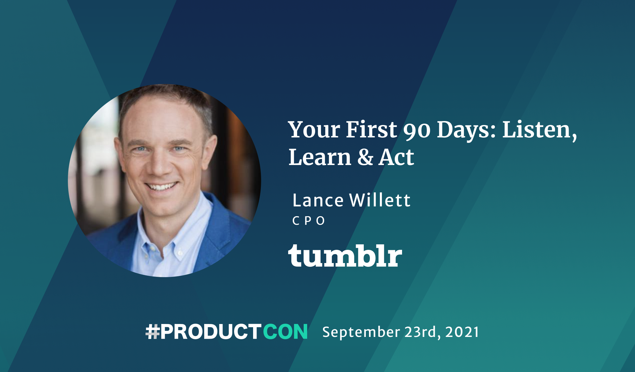 Your First 90 Days: ProductCon
